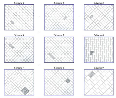 subway tile pattern some alternate tile patterns that may or may not be