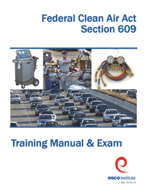 Epa Section 609 by Section 609 Epa Certification