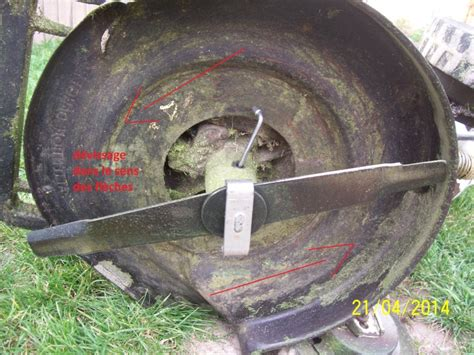 Montage Lame Tracteur Tondeuse by D 233 Montage Lame Tondeuse Gaby