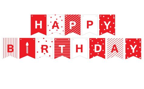 aliexpress com buy tiny 1 6m happy birthday banner