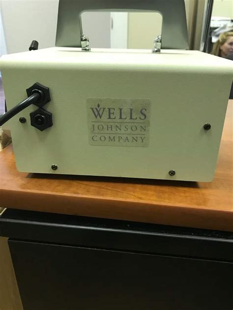 2012 wells johnson infusion infiltration pump rock