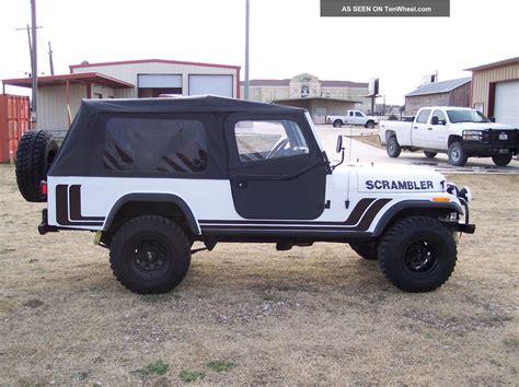 Jeep Scrambler 2012 1981 Jeep Scrambler