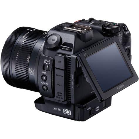 camara video profesional buy canon xc15 13 36 mp camcorder 4k black clifton