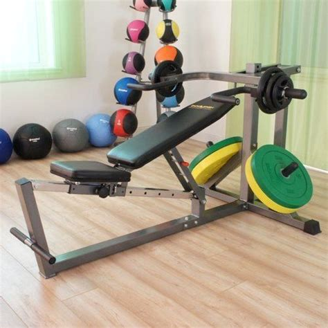 standing bench press machine weightlifting flats and military on pinterest
