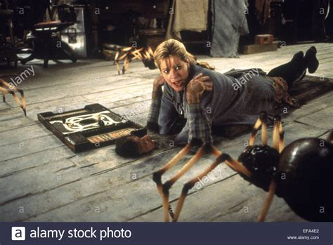 film jumanji 1995 robin williams bonnie hunt jumanji 1995 stock photo