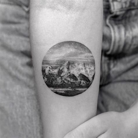 tattoo parlor jackson wy 38 gorgeous landscape tattoos inspired by nature