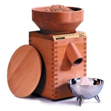Countertop Grain Mill by Wooden Countertop Grain Mill For Flour At Home