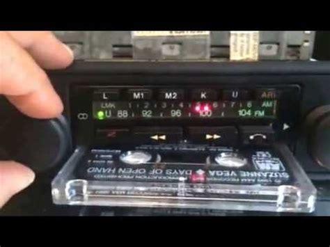 car radio cassette chromelondon blaupunkt heidelberg stereo cr vintage
