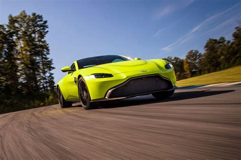 lime green aston martin aston martin vantage revealed details and specs