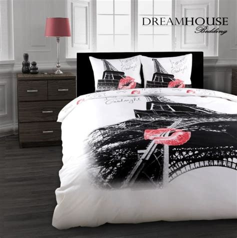 black and white paris bedding 10 stunning eiffel tower paris themed bedding sets