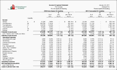 landlord income and expenses excel spreadsheets online