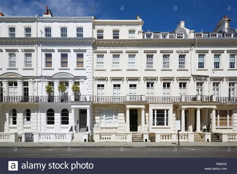 buy house kensington white luxury houses facades in london kensington and chelsea stock photo royalty