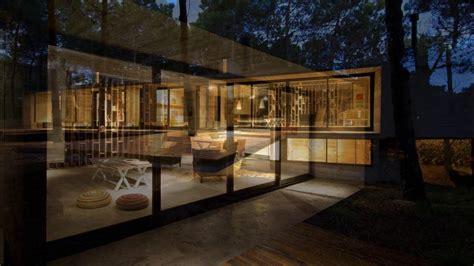 sqm  bedroom exposed concrete house design