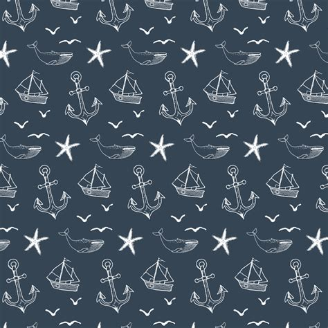 nautical pattern background nautical seas removable wallpaper tile