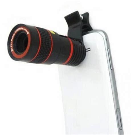Telescope Universal Zoom 8x new universal 8x 12x optical zoom telescope lens clip mobile phone telescope in mobile