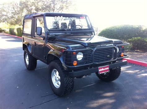 90s land rover for sale beluga black 1995 land rover defender defender 90s