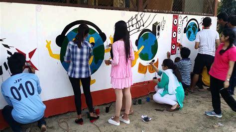 painting competition wall painting competition at adbu
