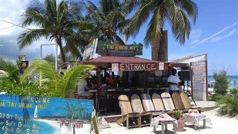 Tiki Hut Bahamas Postcard From The Bahamas Tiki Hut Has The