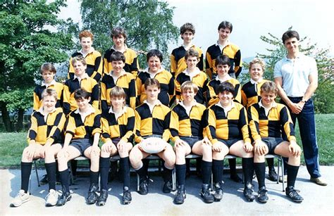 Nicholas Lee by Aberdare Boys Comprehensive A Rugby Team 1986 87