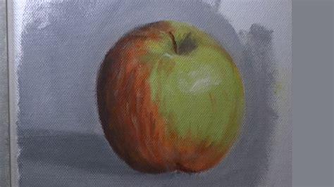 acrylic painting apple acrylic apple painting lesson