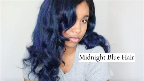 midnight blue hair color midnight blue hair color on black hair www pixshark