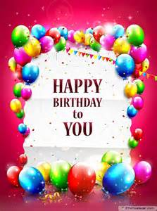 free amp unique happy birthday cards with many elements