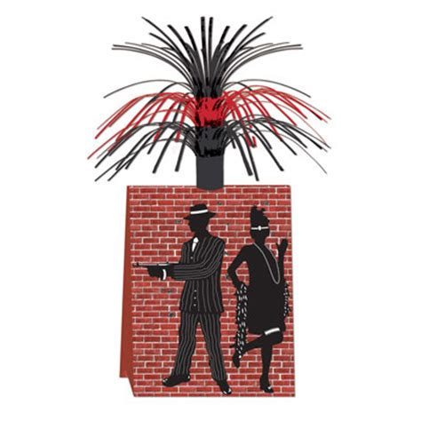 gangster themed decorations roaring 20s decorations supplies gangster centerpiece