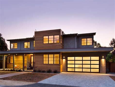 Palo Alto Modern Modern Exterior san francisco by James Witt Homes