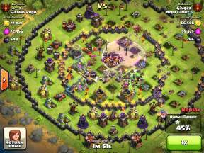 Clash of clans 168 round base quot youtube