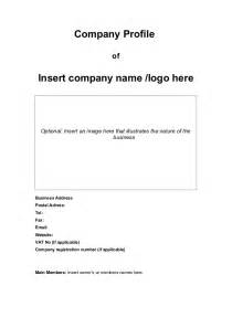 Company Profile Template Microsoft Publisher by Doc 580560 Business Profile Sles Sle Business