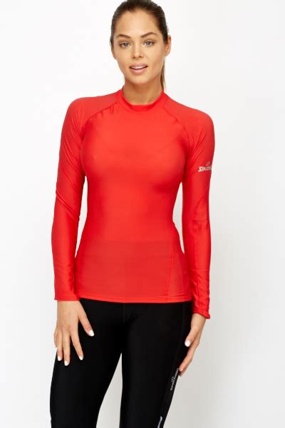Sleeve Sports Top tight fit sleeve sports top just 163 5