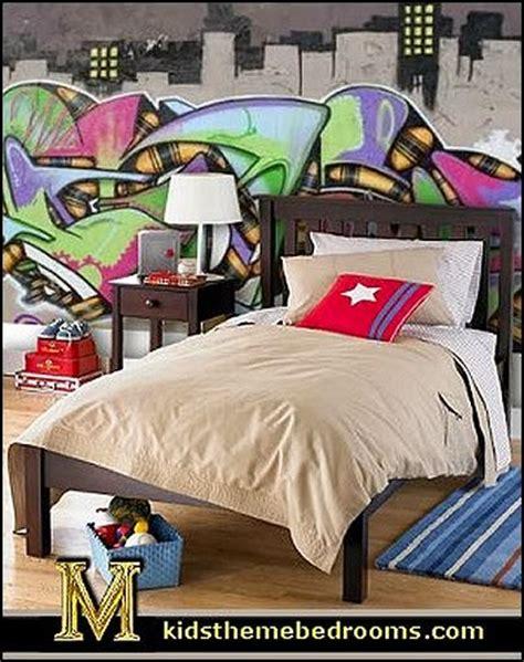 graffiti wallpaper and bedding decorating theme bedrooms maries manor graffiti wall