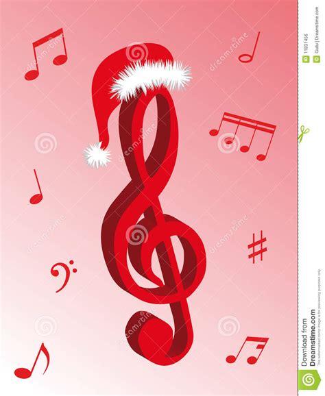 musik f 252 r weihnachten vektor abbildung bild von