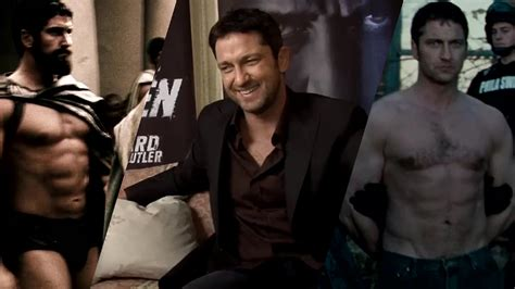 """Gerard Butler: """"My six-pack in 300 is ridiculous!"""" Law ... 300 Imdb Gerard Butler"""