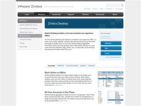 themes zimbra desktop zimbra desktop client mail de yahoo pour concurrencer