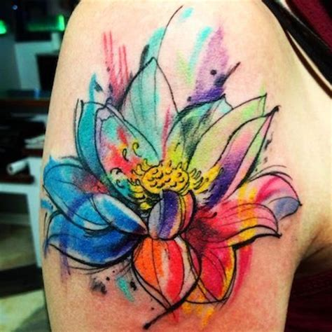 watercolor tattoo effect 105 best images about watercolor tattoos on