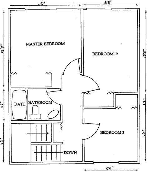 schlafzimmer quadra floor plans