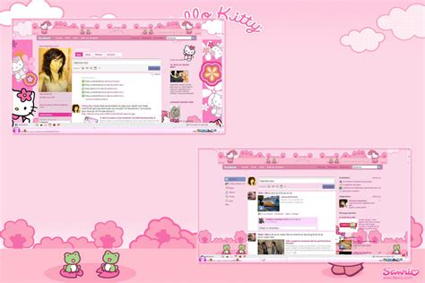 hello kitty themes in facebook hello kitty facebook by ladypinkilicious on deviantart