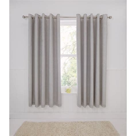 bedroom eyelet curtains dreams n drapes rathmore silver eyelet thermal curtains