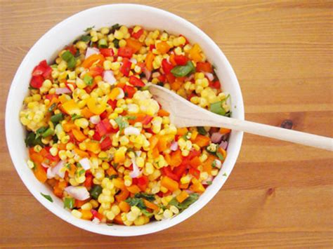 easy salad recipe easy corn salad recipe serious eats