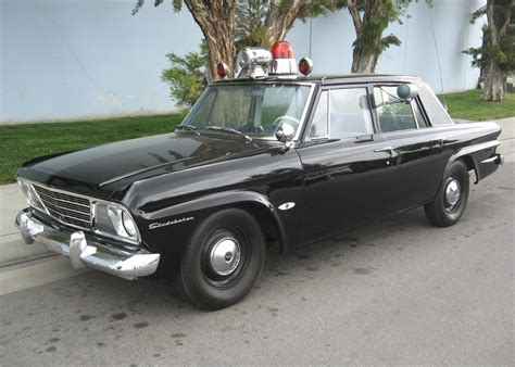 1964 STUDEBAKER 4 DOOR POLICE CAR   65783