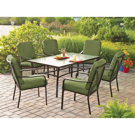 Walmart Mainstays Crossman 7 Piece Patio From Walmart I Walmart Patio Dining Sets