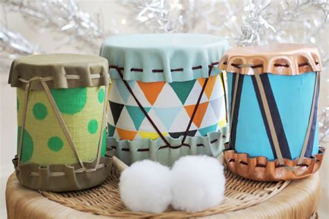 diy drums adorable diy drums for children kidsomania