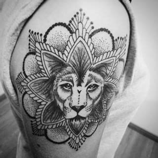 lion mandala google search mandala tattoos pinterest tattoo tatting  piercings