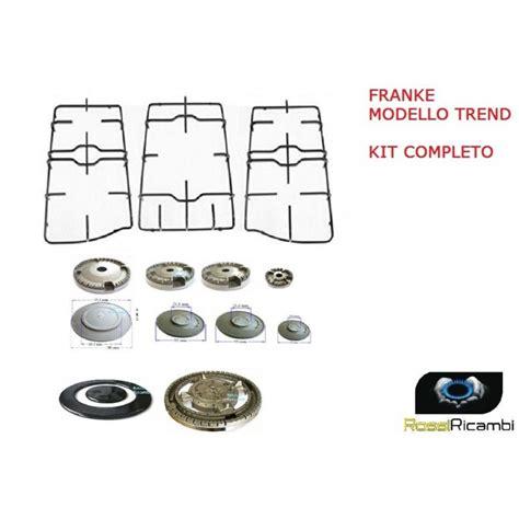 griglie piano cottura franke franke 5 spartifiamma 3 griglie per cucina trend piano
