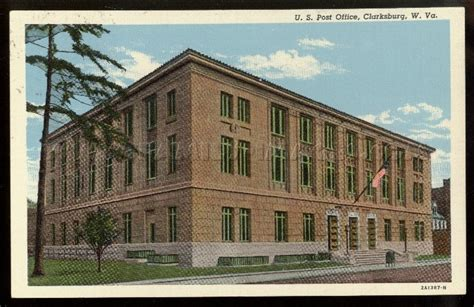 Clarksburg Post Office by Family Images Historical Homepage West Virginia Page