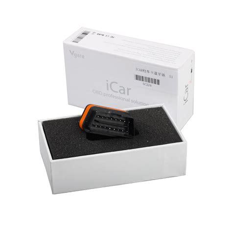 Vgate Icar 2 Car Diagnostic Obd2 Elm327 Bluetooth V17 Cek M T2909 newest vgate icar 2 bluetooth version elm327 obd2 code reader icar2 for android pc