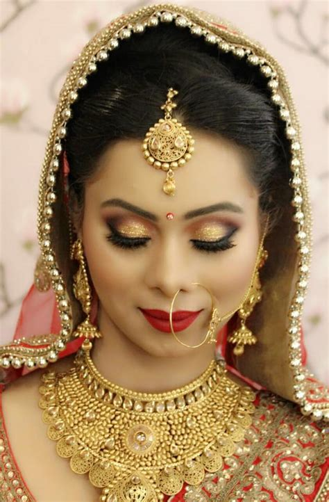 best bridal makeup in delhi vidya tikari makeup artist vidya tikari bridal makeup artist in delhi wedding mantra