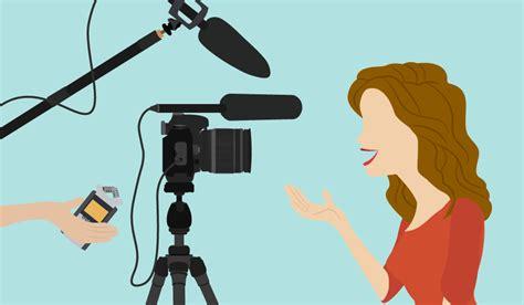 background vlogger vlogging the basics of audio and sound b h explora