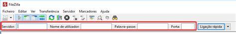porta filezilla efetuar upload de ficheiros e pastas via ftp